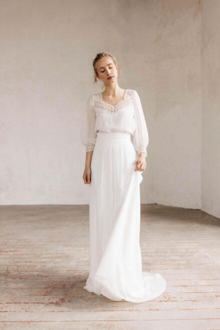 Lambert Créations Robes De Mariées Collection 2022 Aurore1