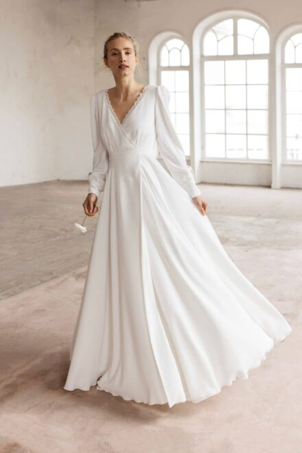 Lambert Créations Robes De Mariées Collection 2022 Cosmos3