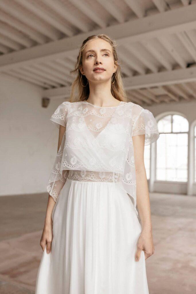 Lambert Créations Robes De Mariées Accessoires 2022 Ecume1