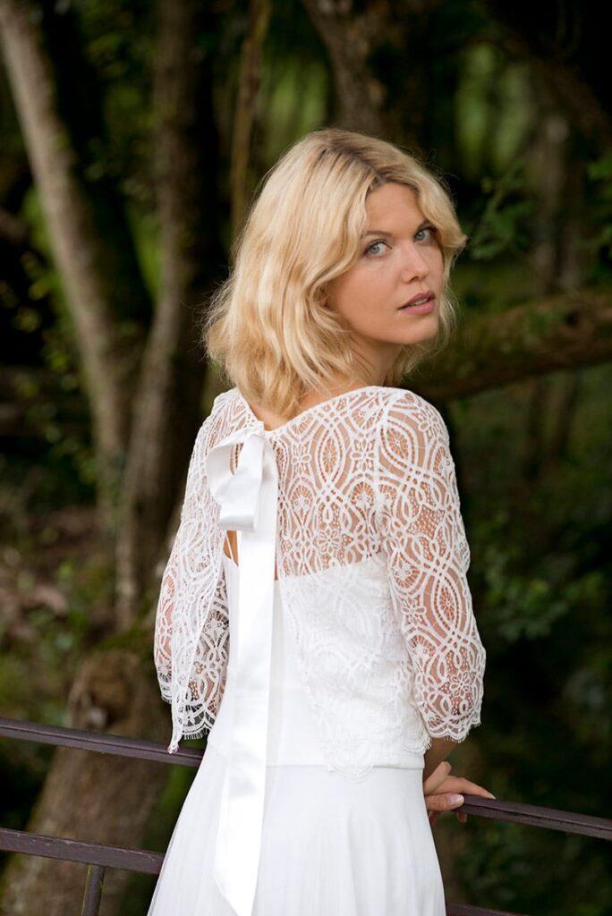 Lambert Créations Robes De Mariées Accessoires Bolero Nico 2