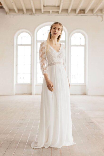 Lambert Créations Robes De Mariées Collection 2022 Flocon2