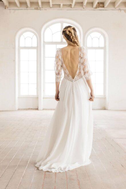 Lambert Créations Robes De Mariées Collection 2022 Flocon4