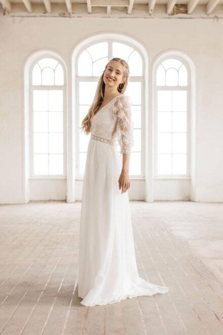 Lambert Créations Robes De Mariées Collection 2022 Flocon5