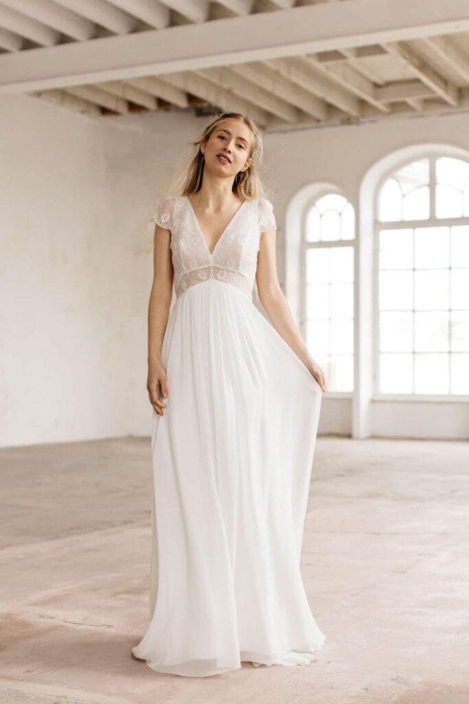 Lambert Créations Robes De Mariées Collection 2022 Nymphe1